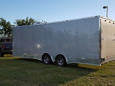 Custom 24+3 Enclosed trailer with AC