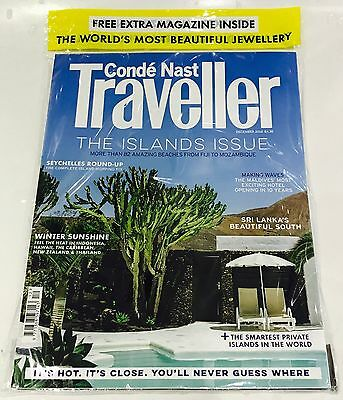 Conde Nast Traveller Magazine December 2016 - FREE JEWELLERY SPECIAL MAGAZINE!