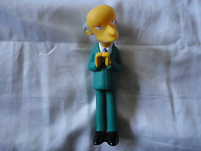Mr Burns. The Simpsons. Burger King Toy 2000. .Simpsons Global Fanfest