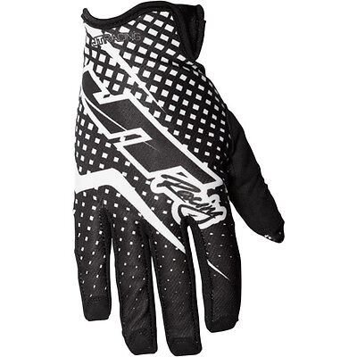 NEW JT Racing 2017 Mx Gear Pro Fit Black White 4 Way Stretch Motocross Gloves