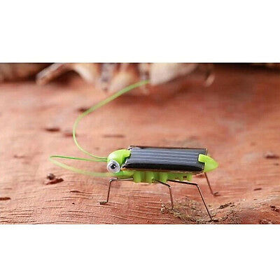 Child Kid's Toy Solar Power Robot Insect Locust Grasshopper Science Toy Gift UK
