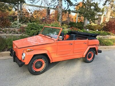 1974 Volkswagen Thing  Volkswagen Thing 1974