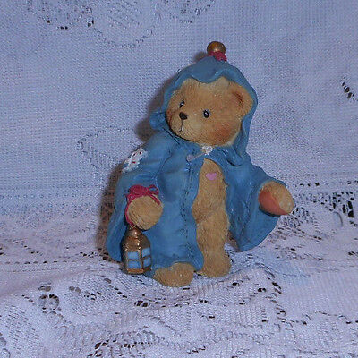 """Cherished Teddies Gabriel """" I Am The Ghost Of Christmas Yet To Come """" 1994"""