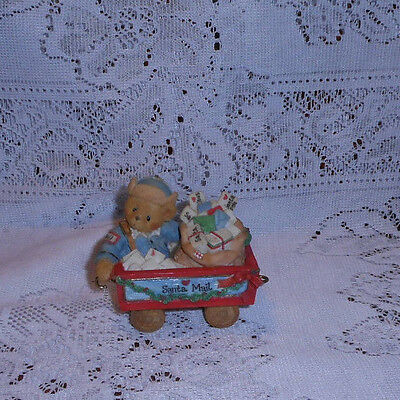 """Cherished Teddies Tony   """" A First Class Delivery For You! """" 1996 P. Hillman"""