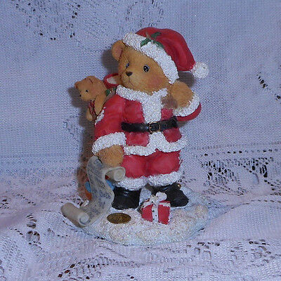 """Cherished Teddies Nickolas """" You're At The Top Of My List"""" 1995"""