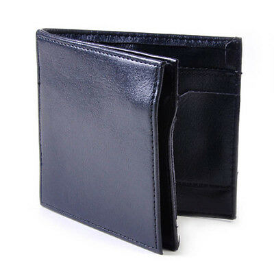 Magic Trick Flash Wallet Leather Magician Close-up Stage Street Props Mens New