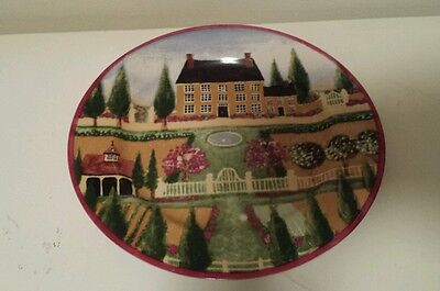 Block Country Village Indonesia Gear 1995~Salad Plate