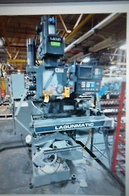 Cnc Lagun Vertical Mill With 4Th Axis Troyke Rotary