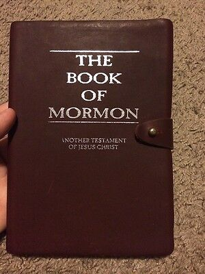Leather Book Of Mormon