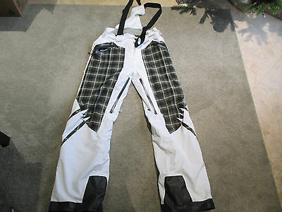 Helly Hansen Helly Tech Snowboard Pants Adult Extra Large White Green Ski Snow