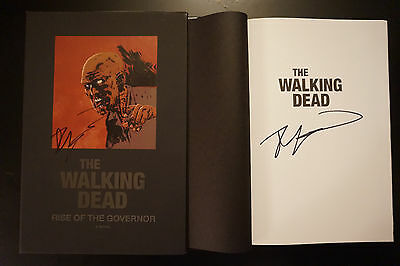 The Walking Dead Rise of the Governor Hardcover Signed Robert Kirkman RARE NYCC