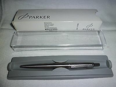 Parker Stainless Steel Ball Pen NEW  England $26
