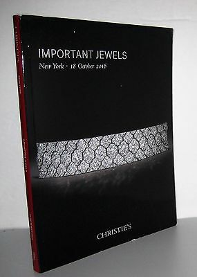 Christie's Importand Jewels New York 18 October 2016 Auction catalog, book