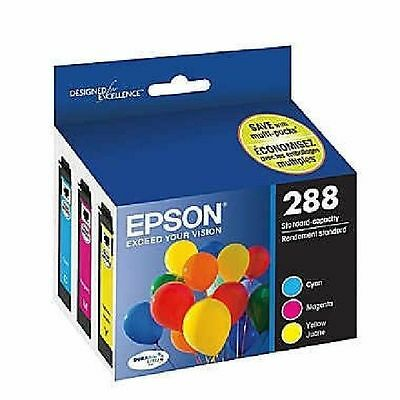 Epson GENUINE 288  Color Ink RETAIL BOX for EXPRESSION XP-330