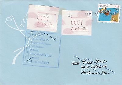Australia FRAMAS Commercial Cover Returned To Sender RTS lot 5