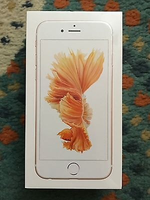 Nuovo!Apple iPhone 6S Rose Gold (Factory Unlocked)128GB Smartphone