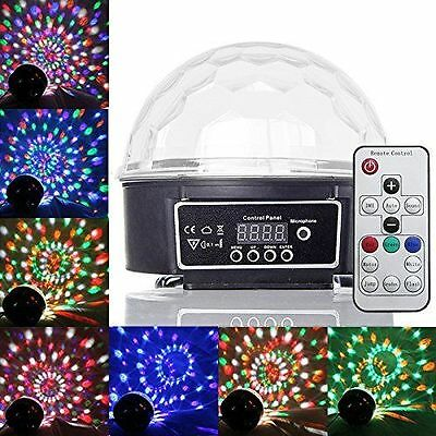 New Remote Control Crystal Ball LED Lighting Disco Lights for Show Club Party