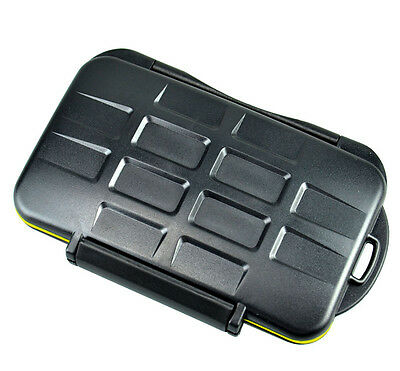 Water-resistant Holder Storage Memory Case Protector For 3XQD + 4SD Cards JJC