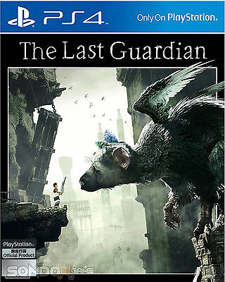 The Last Guardian HK Chinese/English subtitle PS4 NEW