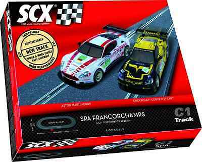 SCX A10000 C1 SPA Francorchamps Set 1:32 Scale New and Sealed