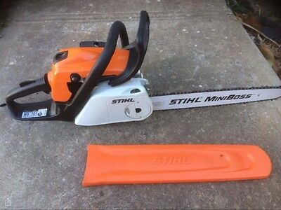 Stihl MS181c chainsaw(easy to start version) As new!