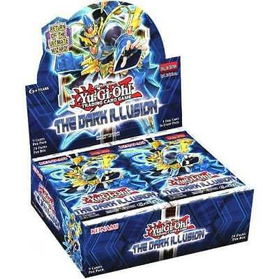 Yu-Gi-Oh Cards:the Dark Illusion - Sealed Booster Box - 24 Packs - 2016