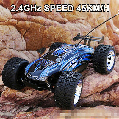 NQD 2.4G 4WD Off Road 1:12 Land Buster Remote Control RC Car 45KMH Racing Truggy