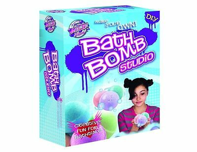 Brand New Wild Science Bath Bomb Studio Kit Educational perfect gift!