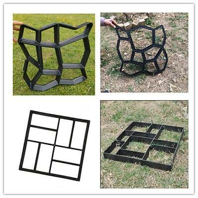 DIY Driveway Paving Pavement Mold 4 Styles Concrete Stepping Stone Path Maker