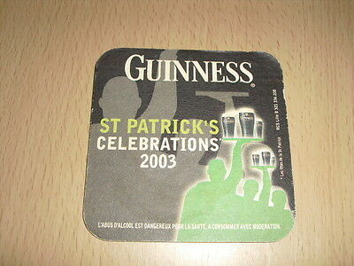 "SOUS-BOCK Guinness ""St Patrick's celebrations 2003"""
