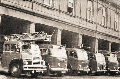 Photo Taken From A 1956 Image Of Strand Road Bootle Fire Station