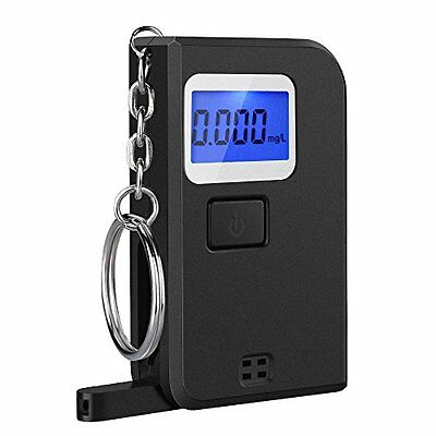 VicTsing Mini Digital Keychain Alcohol Tester Portable Breathalyzer with LCD 5 -