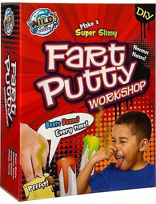 Wild Science Fart Putty Workshop Kids Toys Gifts Science Kits Educational Kits