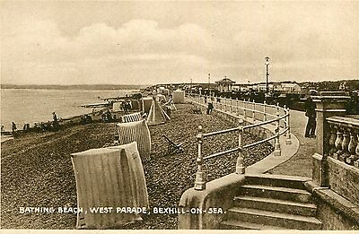 ANGLETERRE LOT de 11 Cartes BEXHILL ON SEA