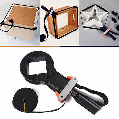 Rapid Corner Clamp Woodworking Band Strap Holder 4 Jaws For Drawer Picture Frame