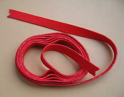 Piano Key Bushing Cloth-Red-Top Quality Cloth-for Middle Key Slots Only