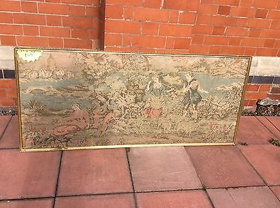 Large Antique Tapestry Length 63""