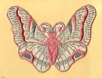 Turmac Tobacco Cigarette embroidery appliques silk Butterflies Med B91 Silks 1