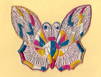 Turmac Tobacco Cigarette embroidery appliques silk Butterflies Med B86 Silks 1