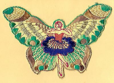 Turmac Tobacco Cigarette embroidery silk Butterfly Girls A15 Silks 1