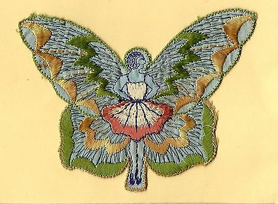 Turmac Tobacco Cigarette embroidery silk Butterfly Girls A18 Silks 1