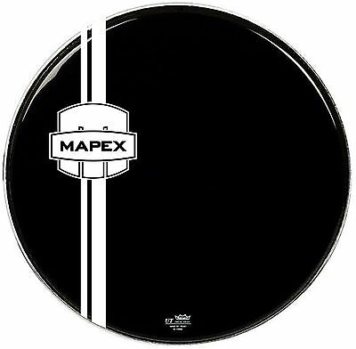 Bass drum shield logo / graphic / decal / mapex