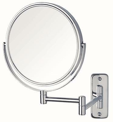 Magnifying Makeup, Cosmetic, Mirror, New, Wall Mounted 10x magnification ,Chrome