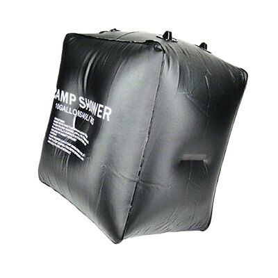 40L Solar Heated Camping Shower Water Bag PVC Outdoor Travel Hiking Activity