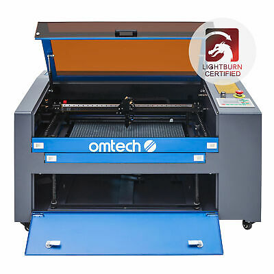 "Co2 Laser Engraver Cutter RDwork v8 Cutting Engraving Marking Machine 24x16"" 60W"