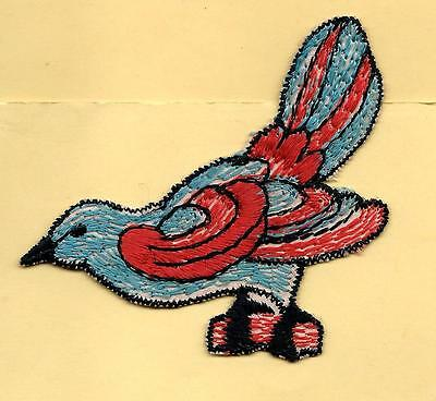 Turmac Tobacco Cigarette embroidery applique silk Bird Cb55 Silks 1