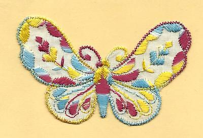 Turmac Tobacco Cigarette embroidered silk Butterfly Small C10 Silks 1