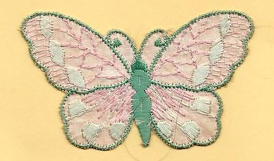 Turmac Tobacco Cigarette embroidered silk Butterfly Small C13 Silks 1