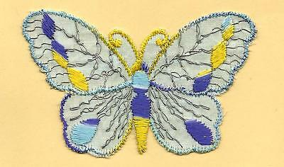 Turmac Tobacco Cigarette embroidered silk Butterfly Small C14 Silks 1