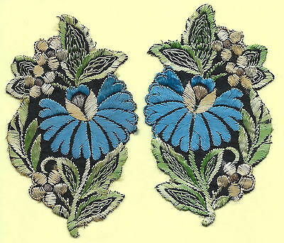 Turmac Tobacco Cigarette embroidered appliques silk Flowers Silks 2